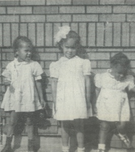 3 little girls, none of them Donyale Luna