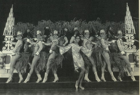 Donyale Luna leads the chorus line