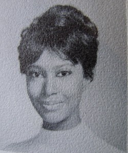 Donyale Luna high school graduation photo