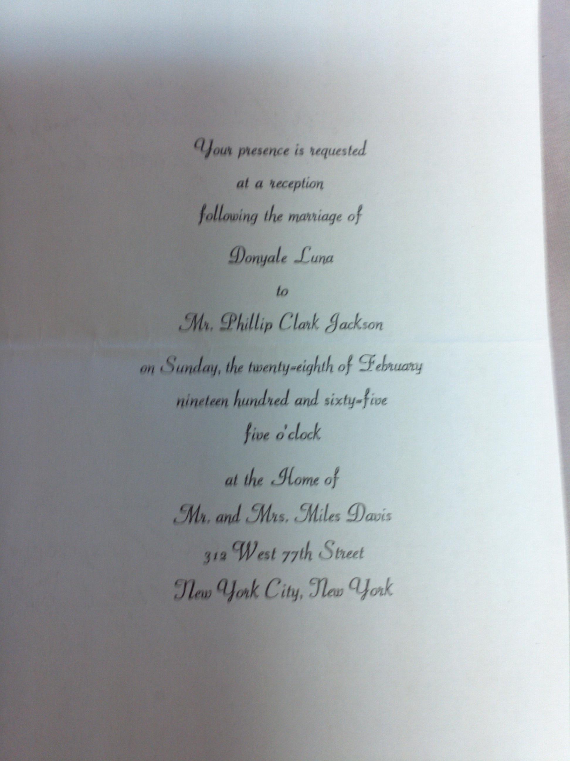 Post Wedding Reception Invitations Wording Invitation Wording – Invitation for Funeral